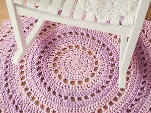 mandala rug - free crochet rug patterns rnbsbuo