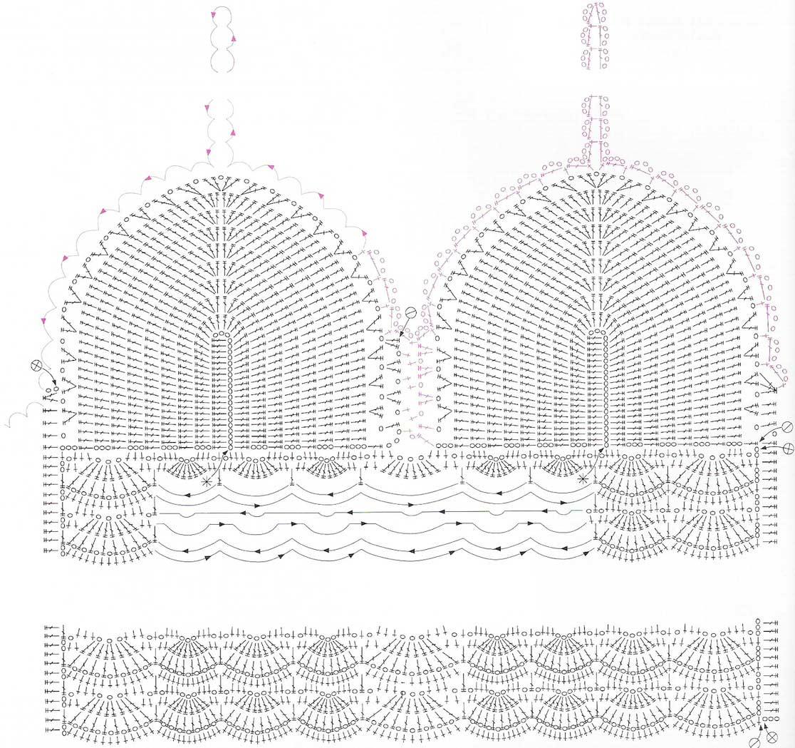 many styles of crochet bikini pattern pyivqtu