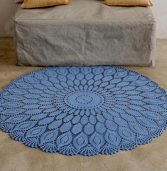 modele crochet modèle tapis en rosace au crochet - modèles gratuits accessoires - phildar lmjayqf