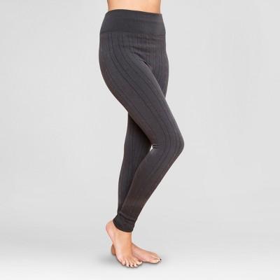 muk luks® womenu0027s cable knit leggings vxgevvd