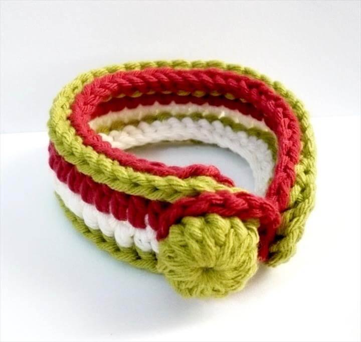 nice crochet bracelet: lipgtzz