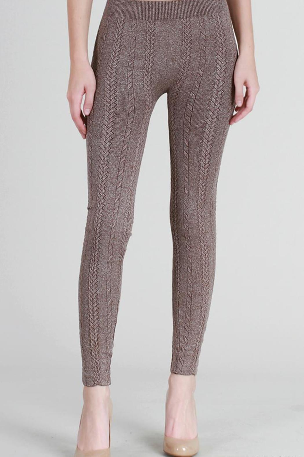 Cable knit leggings – Gift from winters