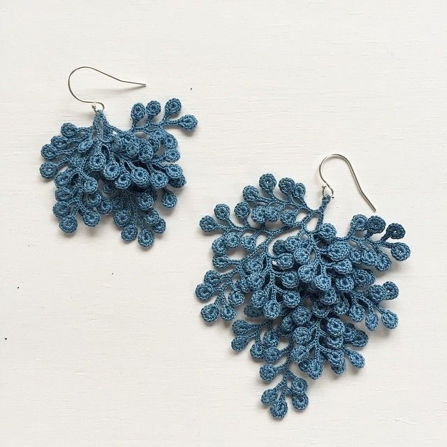 organic micro crochet jewelry artist fujitamiho (miho fujita) fgcmvsu vvhcumz