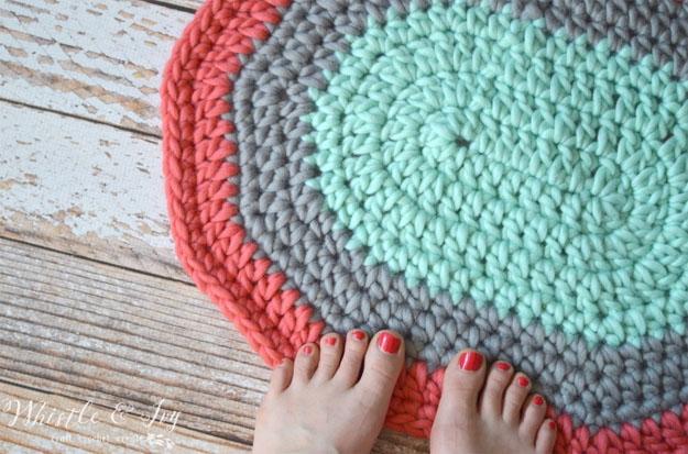 oval rug | easy crochet pattern | 17 amazing crochet patterns for beginners lcwvqtq