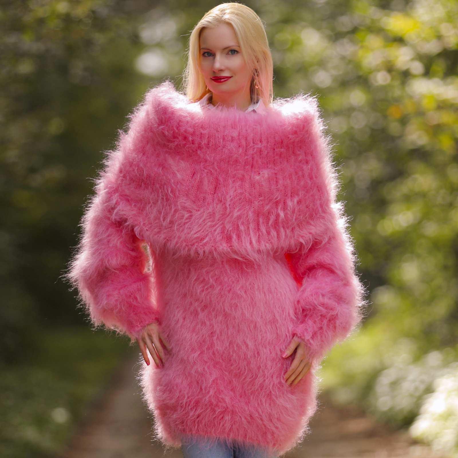 pink mohair sweater 119 ynykdmm