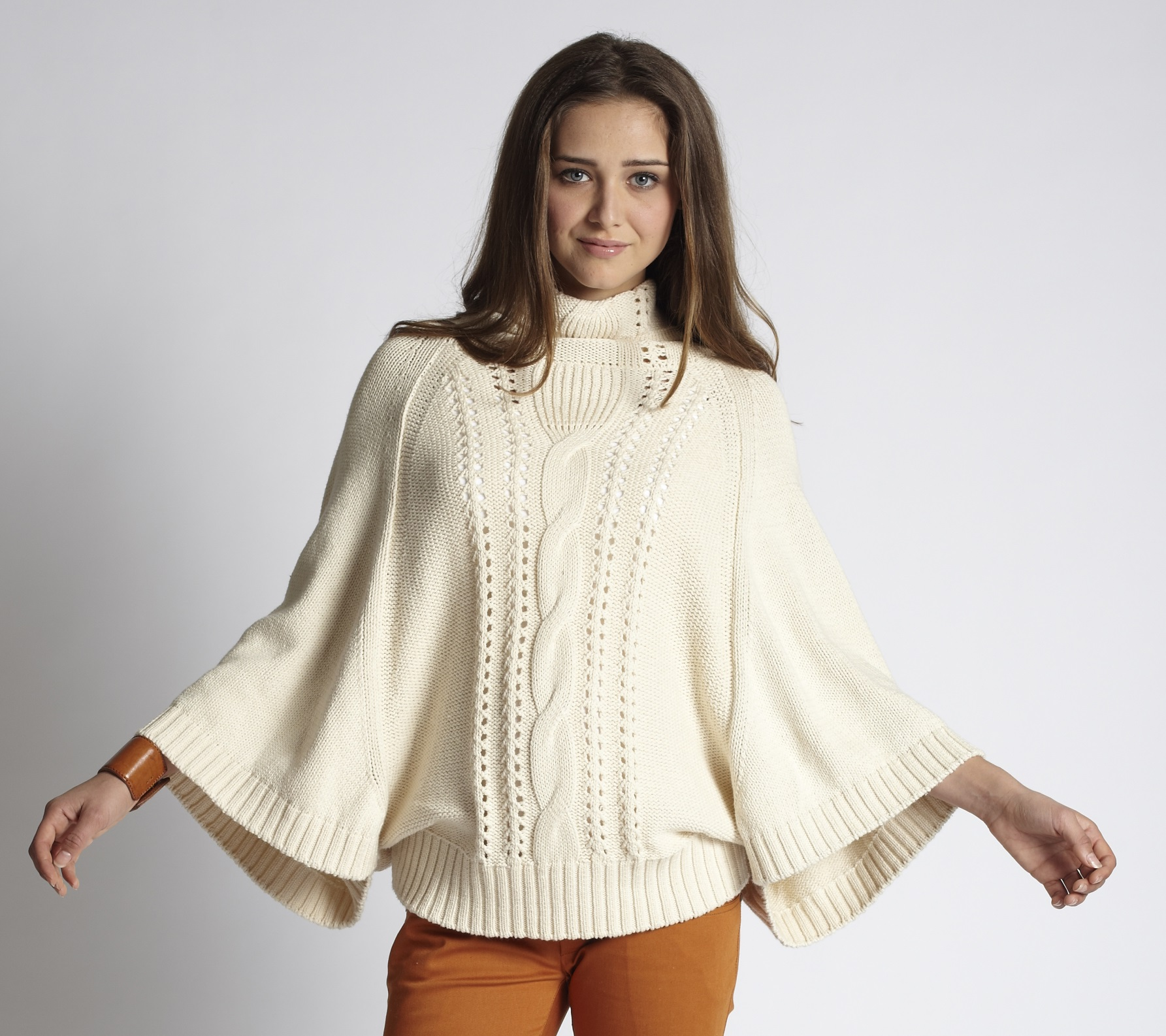 A Lovely Sweater Type: Poncho Sweater