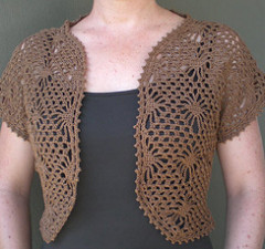 ravelry: crochet bolero pattern by panda yarns pditdfp
