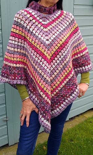 ravelry: desert irony crochet poncho pattern by kathryn senior orcdthu