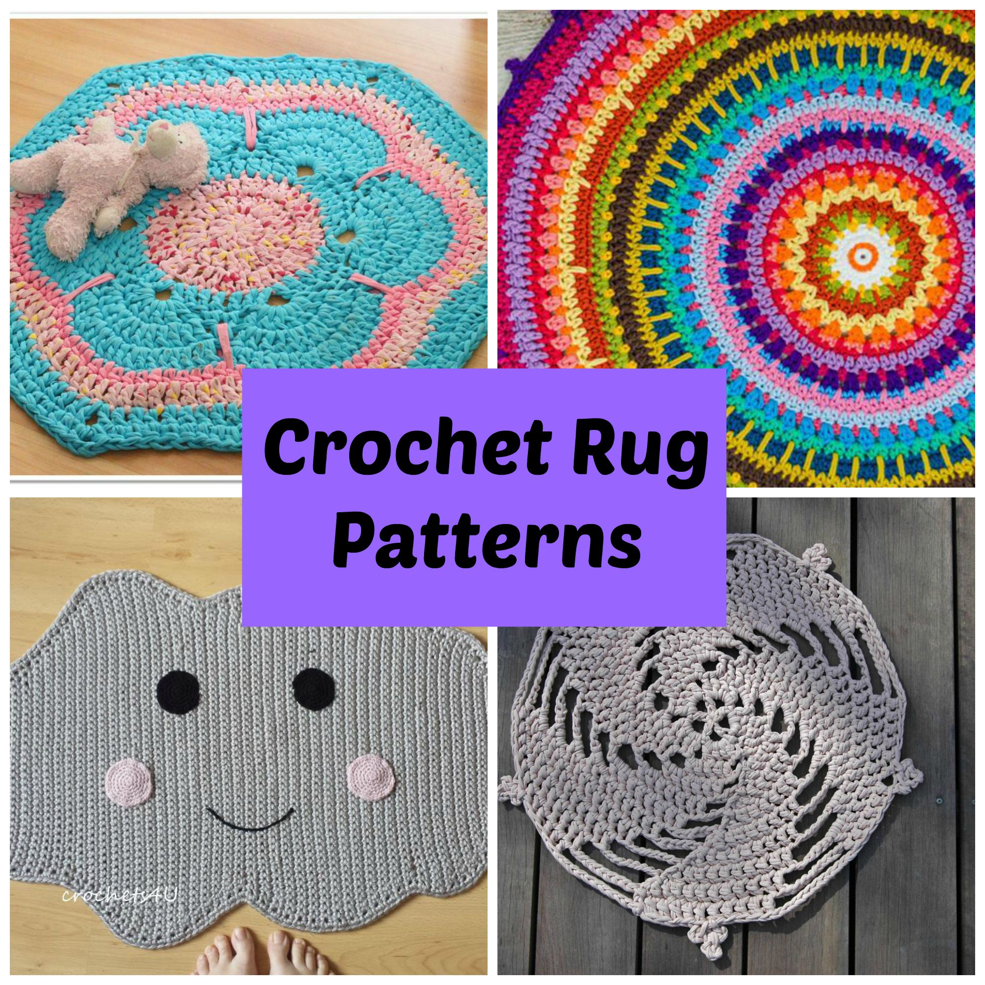 revive any room with 7 quick crochet rug patterns wydhmxi