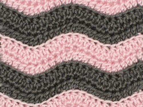 Various Unique Designs of Ripple Crochet Pattern