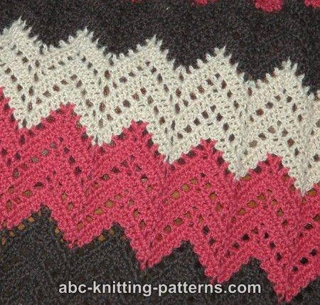ripple crochet pattern close up iflwvyq