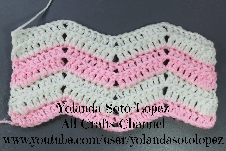 ripple crochet pattern how to crochet ripple stitch - youtube blkkzrq