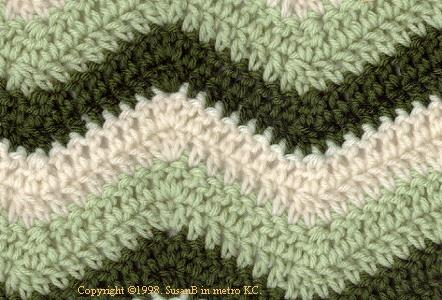 ripple crochet pattern ripple afghan closeup czelode