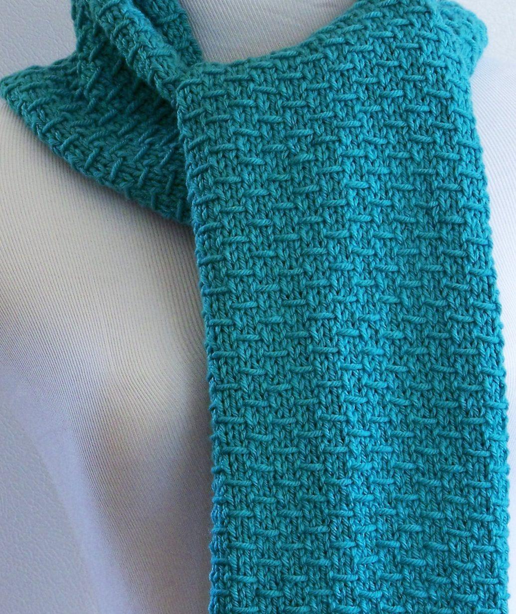 scarf knitting patterns blue knit scarf ireswia