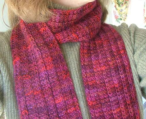 scarf knitting patterns one row hand spun scarf hqjrvhg