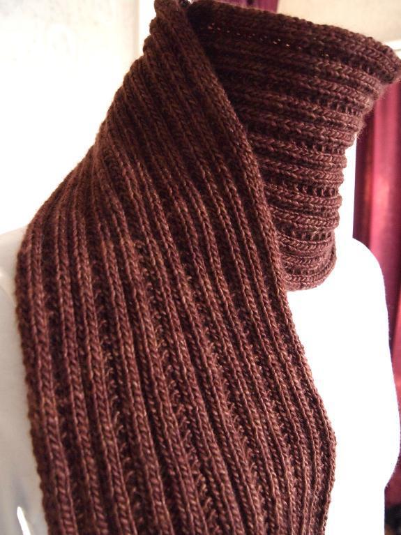 scarf patterns simply ribbed scarf free knitting pattern gczhvrk