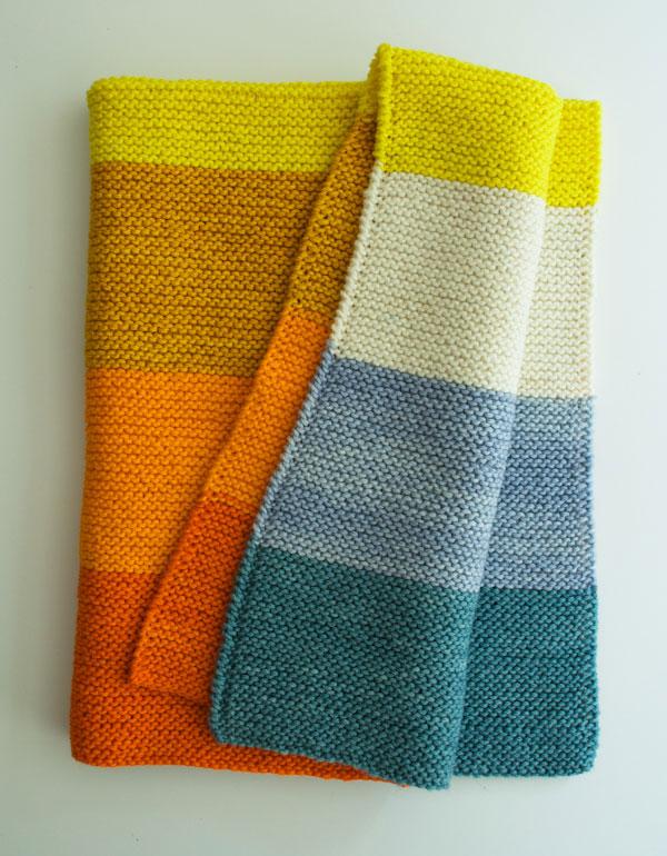 simple knitting patterns super easy baby blanket via purl soho eobeckg