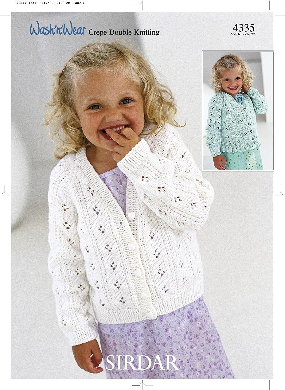 Sirdar Knitting Patterns sirdar wash n wear dk childrenu0027s knitting pattern 4335: amazon.co.uk:  kitchen u0026 kormduq