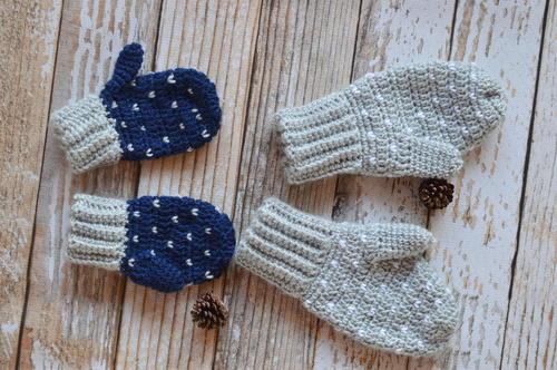 Crochet mittens- Keep Your Hands Warm & Cozy!!!