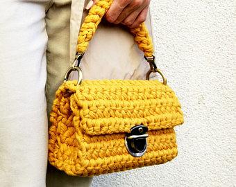stylish handbag | 100% handmade crochet bag | knit handbag | crochet bags psmbozt