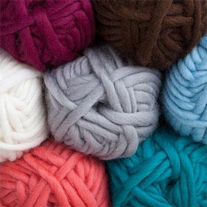 Super Bulky Yarn tuff puff $3.14 - $4.49 / 100g ball sale 100% wool super bulky fdcyvmw