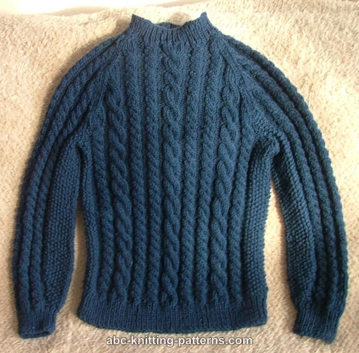 sweater patterns cable raglan sweater for a boy uvoahef