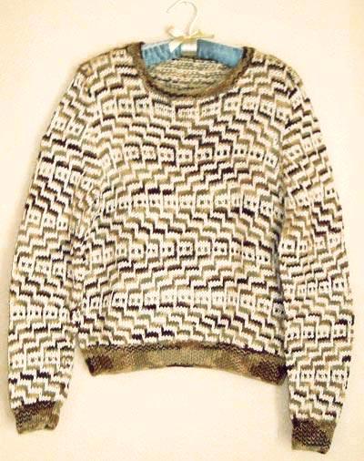 sweater patterns mosaic zig zag pullover sweater knitting pattern azggcap