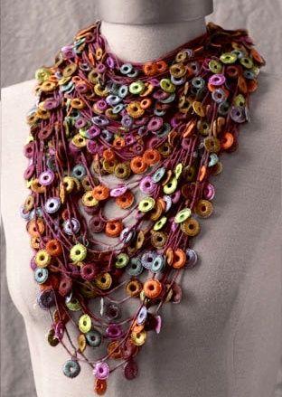 the 25+ best crochet necklace pattern ideas on pinterest   crochet necklace, kifczqs