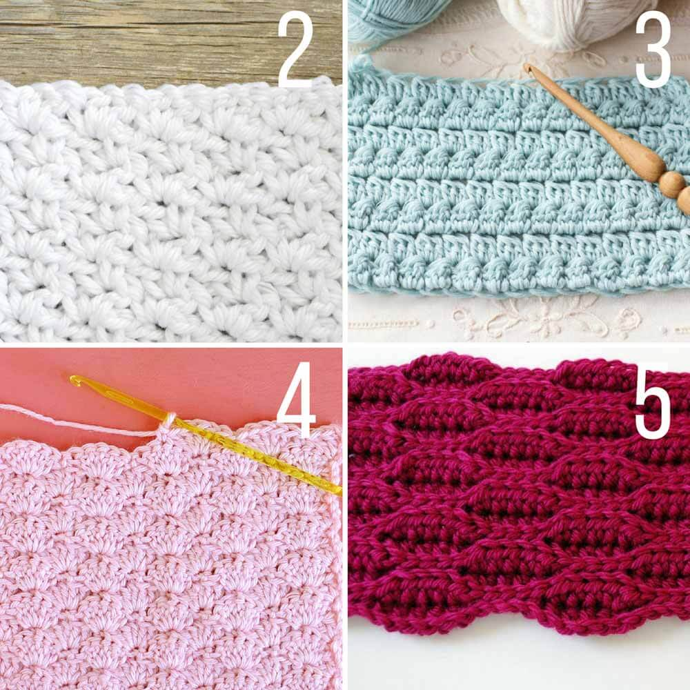 this collection of modern crochet stitches for blankets and afghans is sure nexptqj