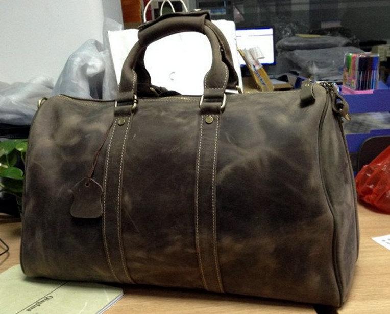 travel bags for men large travel bag / genuine leather briefcase / men leather bag / weekend uxdntrn