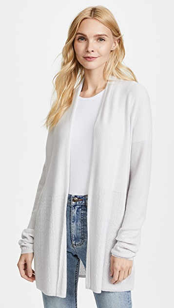 tse cashmere open front cashmere cardigan ... lzwyhwh