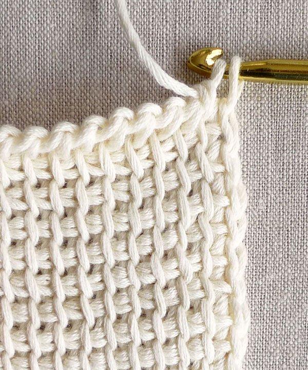 tunisian crochet basics | purl soho tdxnryh