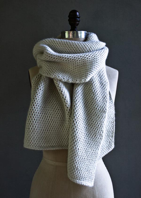 tunisian crochet scarf   purl soho ubogiey