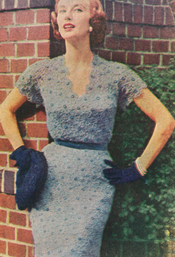 vintage crochet patterns pdf 5211 vintage 1950s daisy dress crochet pattern ltdnhxl