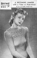 vintage knitting patterns vintage knitting pattern ladies twin set cardigan jumper 1940s wartime mbwbkhu