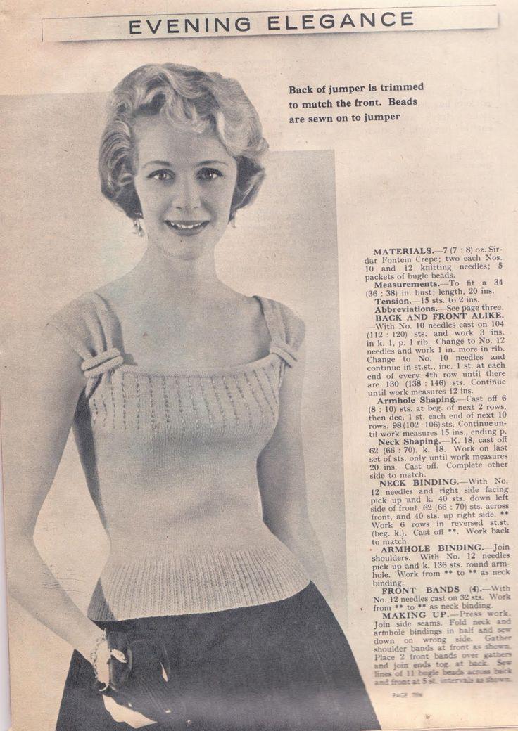 vintage knitting patterns wayward creating: free vintage knitting pattern! jsswvqy