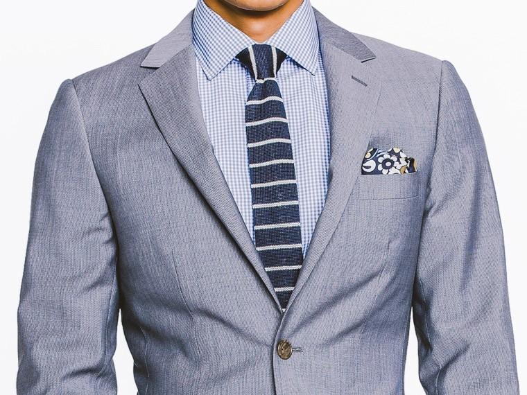 washed indigo fineline wool-mohair suit 1 qqgnpge