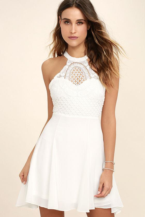 white crochet dress made in the crocheted white skater dress 1 htcyovx
