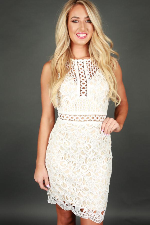 white crochet dress showered with love crochet dress gjmntpd