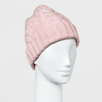 womenu0027s cable cuff knit beanie - a new day™ sjosbxn