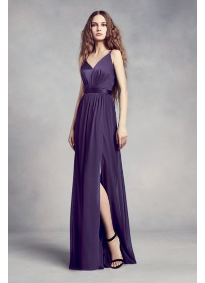 Look beautiful and gorgeous in  chiffon bridesmaid dresses
