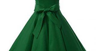 Amazon.com: Dressystar Women Vintage 1950s Retro Rockabilly Prom