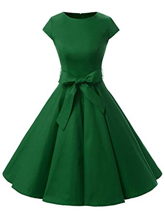 Add 1950s style dresses to your fashion designs