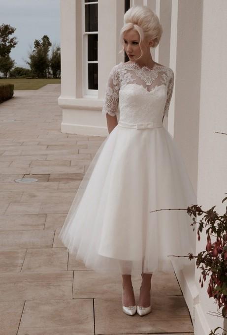 1950 vintage wedding dress Naf Dresses