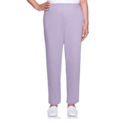 Alfred Dunner At Ease French Terry Pull On Pants JCPenney