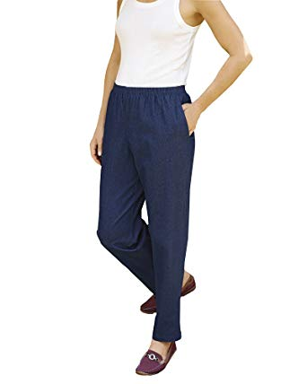 Alfred Dunner Pull-On Pants at Amazon Women's Clothing store: