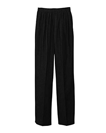 Wear Alfred dunner pants   during play and usual work
