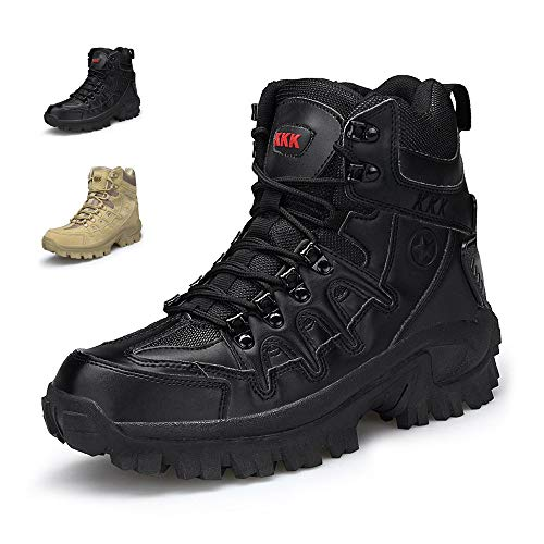 Amazon.com | ENLEN&BENNA Men's Army Boots Military Boots Tactical