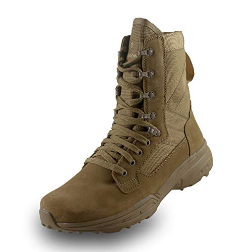 Add army boots to footwear to   look stylish