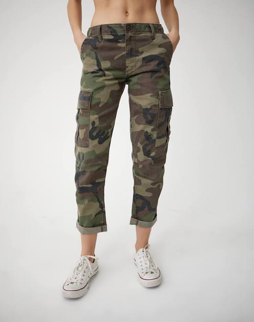 RE/DONE | Cargo Pant in Camo